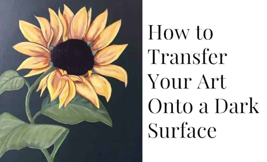 How-to-transfer-onto-dark-surface